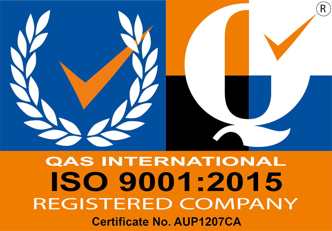 QAS International certificate number AUP1207CA