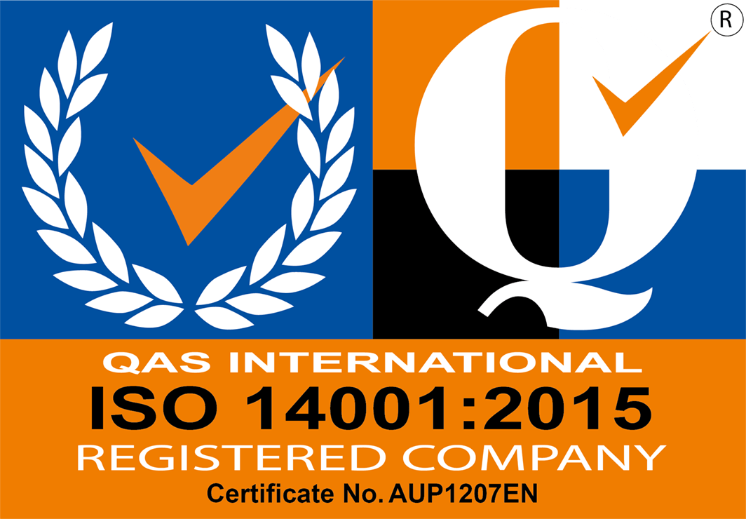 QAS International certificate number AUP1207EN